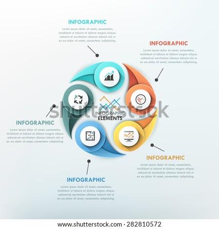 modern infographics cycle