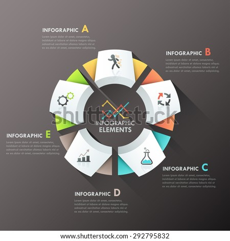 modern infographics options