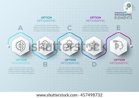 modern infographics process