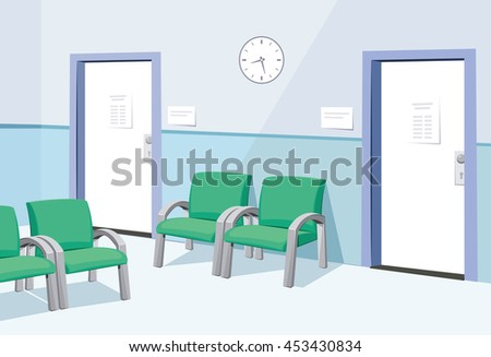 modern interior at the doctor