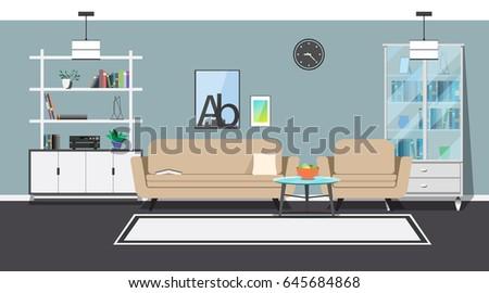 modern interior sofa  armchair