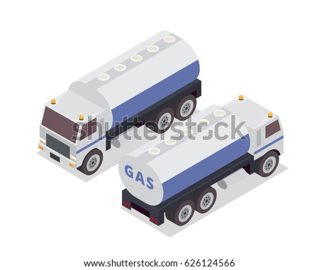 modern isometric urban vehicle