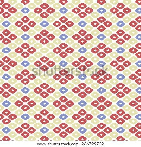 Modern Japanese Traditional Background Shibori Pop Colorful