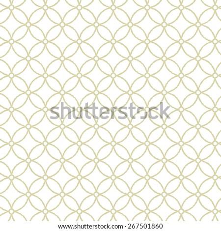 Modern Japanese Traditional Pattern Background Hoshishippou Gold line
