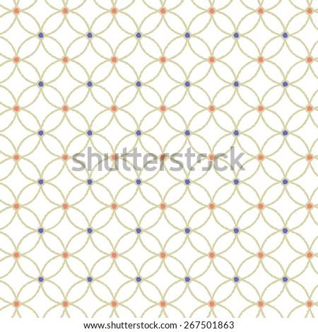 Modern Japanese Traditional Pattern Background Hoshishippou Pop Gold line