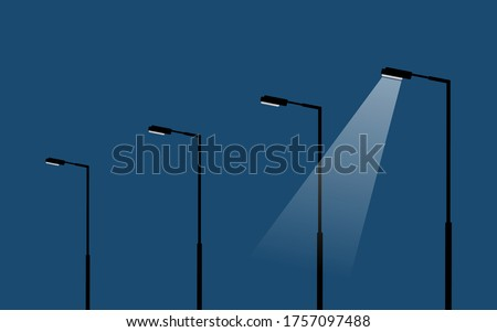 modern light poles lamp stands