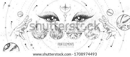 modern magic witchcraft card