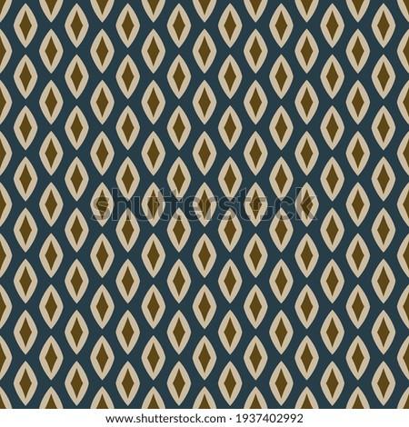 Modern masculin common geometric motif pattern, ultimate gray fabric design manly background. Illuminating yellow small diamond shape print block for apparel textile, ladies dress, men shirt, wrap Photo stock ©