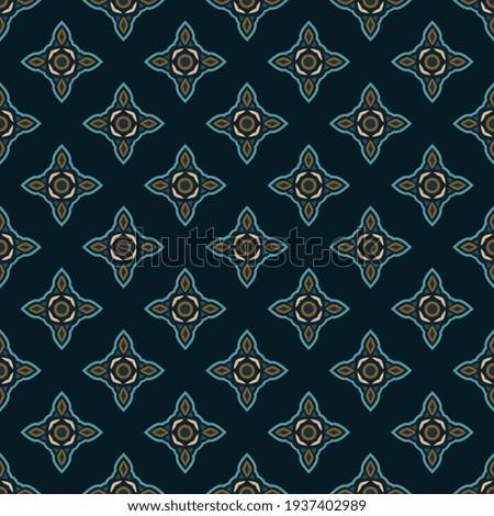 Modern masculin geometric line motif pattern, fabric design manly background. Illuminating gray small patch wax print block for apparel textile, ladies dress, man shirt, garment, package, wallpaper. Photo stock ©