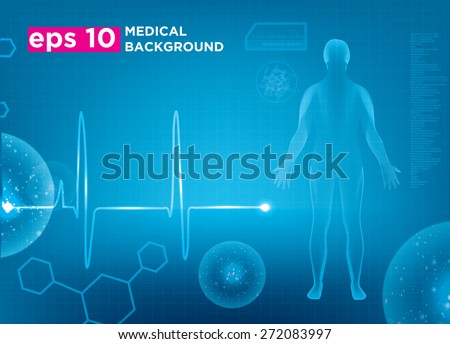 modern medical vector template