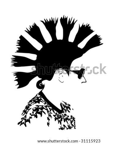 modern men's hairstyle