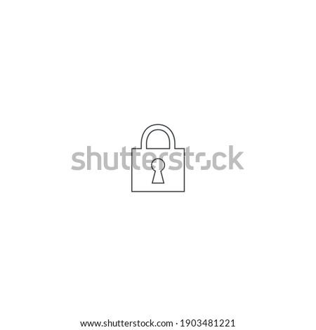 modern minimalistic lock line
