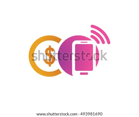 modern mobile payment logo