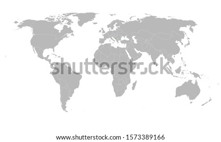 Modern montenegro map marked green on world map vector illustration graphics design. Gray background. Great for business concepts, backgrounds, backdrop and wallpaper.
