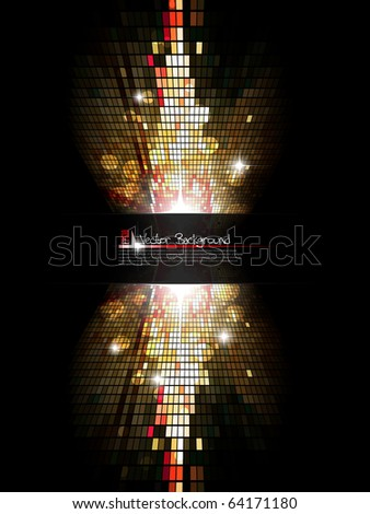 Modern mosaic background. Vector illustration.