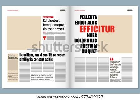 Newspaper Vector - Download Free Vector Art, Stock Graphics & Images