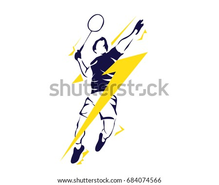 modern passionate badminton
