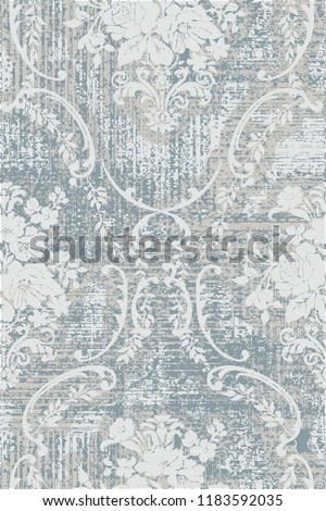 modern pastel colors roses damask pattern in checks and tartan background. seamless and vector design for home textile textures