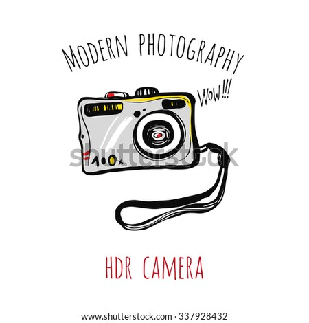 modern photography  hdr camera