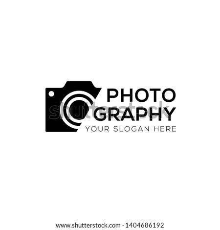 modern photography vector logo