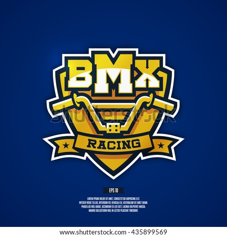 modern professional bmx logo
