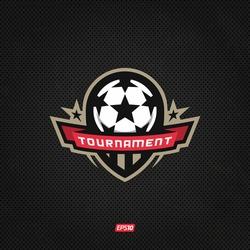 Modern professional logo for a soccer tournament