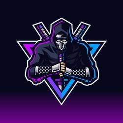 Modern professional Ninja mascot logo
