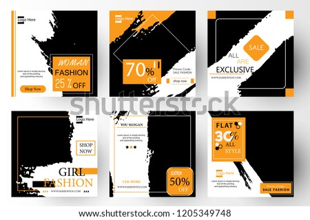 Modern promotion square web banner for social media mobile apps. Elegant sale and discount promo backgrounds for digital marketing. Email ad newsletter layouts. Summer Sale. Templates