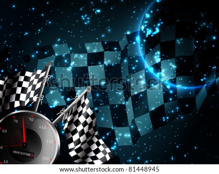 Modern racing background