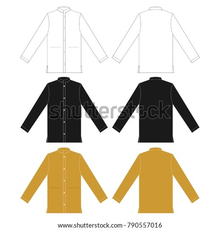 modern robe abaya vector template ez canvas