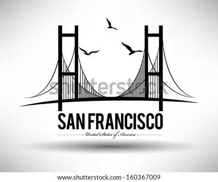 modern san francisco bridge