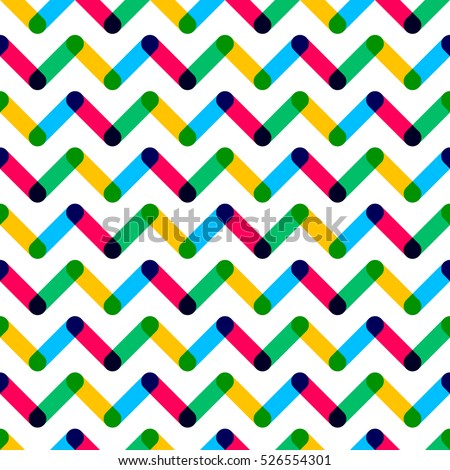 Modern seamless pattern. Colorful geometric pattern