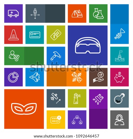 Airstock is - Modern, simple, colorful vector icon set with