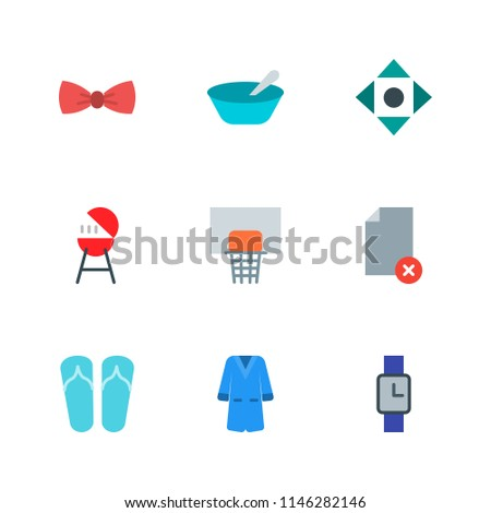 Modern Simple Vector icon set. Contains Icons barbecue,  file,  document,  game,  emblem,  accessory, basketball, fashion,  sport,  porridge,  fresh,  grilling,  meat,  meal,  healthy,  oatmeal,  bow