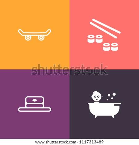 asian street bath images. Black Bedroom Furniture Sets. Home Design Ideas