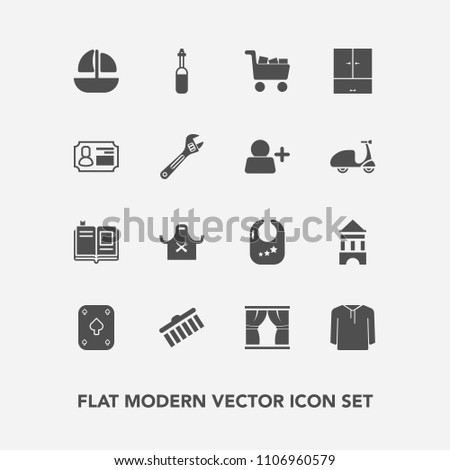 Airstock is - Modern, simple vector icon set with commerce