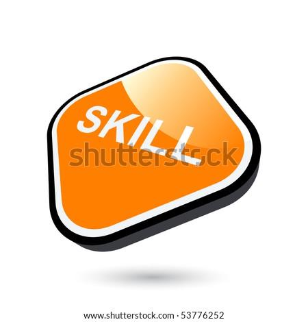 Modern Skill Sign Stock Vector 53776252 : Shutterstock