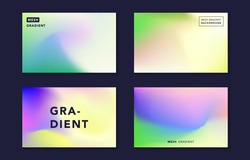 Modern soft mesh gradient vector, digital vibrant colorful background, elegant bright blur texture, dynamic abstract cover, banner, card, flyer, poster design template in blue, yellow, green, purple