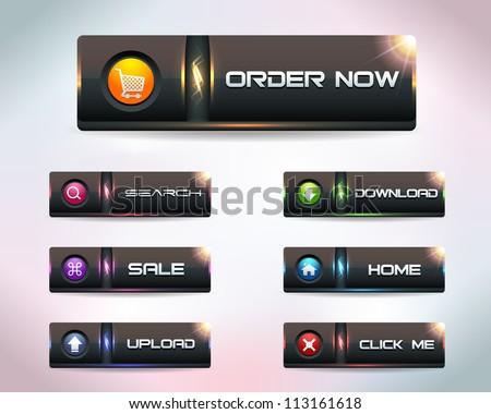 Modern Soft Web Buttons