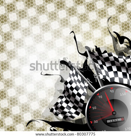 Modern speed racing background