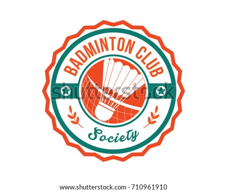 badminton logos download free vector art stock graphics images