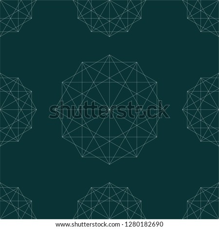 Modern stylish ikea style seamless pattern. Vector illustration. Abstract geometric hipster fashion design.