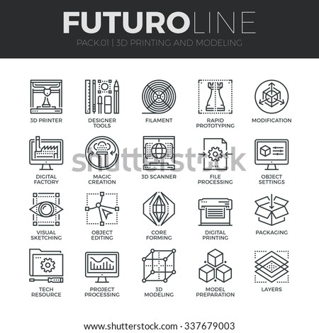 Futuro Line Icons Collection