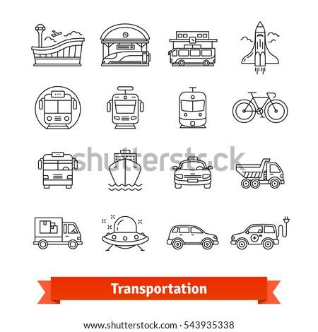 modern transportation and urban