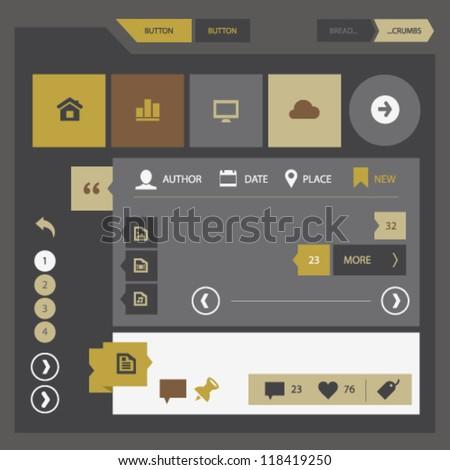 modern ui kit for mobile