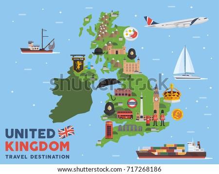 modern united kingdom famous