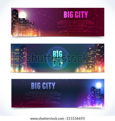 modern urban city skyline at