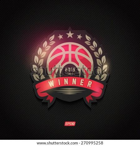 modern vector basketball