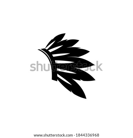 Modern vector graphic of apache logo, perfect for traditional, festival etc.