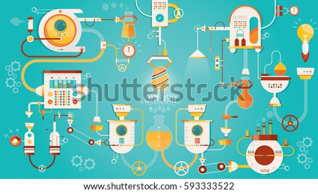 modern vector illustration of